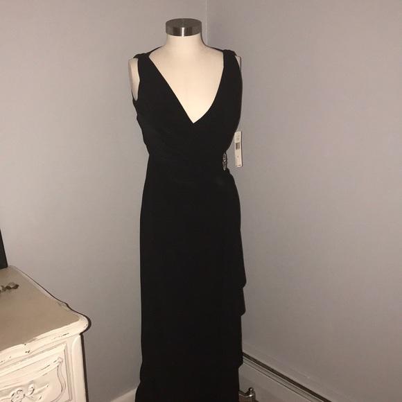 Lauren Ralph Lauren Dresses | Long Black Evening Gown | Poshmark